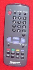 Original Genuino texto de TV Sharp Video Vcr Control Remoto G1060SA