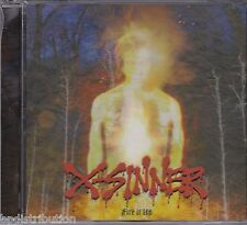 X-SINNER - FIRE IT UP (*NEW-CD, 2006) Christian Metal for fans of AC/DC