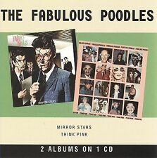 The Fabulous Poodles MIRROR STARS+THINK PINK cd 1978/79/09 NEW(US SELLER)mirrors