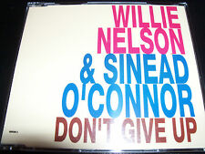 Willie Nelson & Sinead O'Connor Don't Give Up Rare Australian CD Single