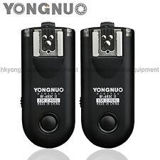Yongnuo RF-603II RF-603 II Flash Trigger for Canon 550D 500D 450D 400D 350D 300D