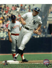 RON BLOMBERG Unsigned 8x10 Photo YANKEES