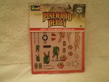 Pinewood Derby DRY TRANSFER DECALS - DECALS E RMXY9624