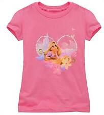 Disney Store Rapunzel Tangled Organic T- Shirt Size 7/8