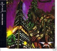 FLESH FOR LULU Decline Fall / Blood Shot Moon Europe CD Single 1989 USA seller