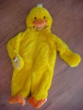 NWT YELLOW CUDDLY DUCK BABY 1 PIECE COSTUME SIZE 9M