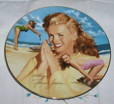 Marilyn Munroe Her Day In The Sun (Norma Jeane) Plate