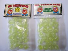 2 BAGS OF MR. POTATO HEAD 5 CENTS COLLECTOR MARBLES