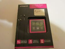 Polaroid Pmp120-4 Pink (4Gb) Digital Media Player Stores up to 1000 Mp3 Songs