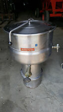 Market Forge Direct Steam Jacketed Soup Kettle F-20P 20 Gallon Stainless Steel