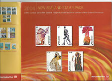 2004 New Zealand Stamp Pack (Lord of the Rings etc) complete MUH/MNH as issued