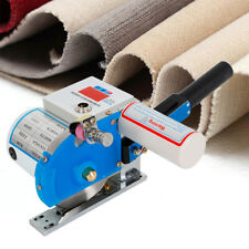 "4.5"" High Speed Fabric Cutter Cloth Cutting Machine Rail Mount w Digital Counter"
