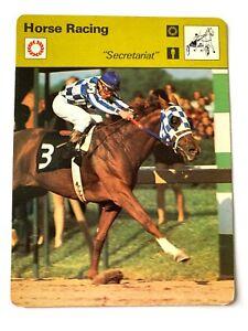 Secretariat, 1977 Sportscaster Horse Racing, Triple Crown Winner