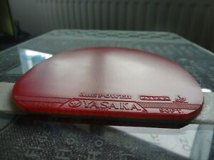 used table tennis rubber YASAKA ANTIPOWER  W147mm x H154mm