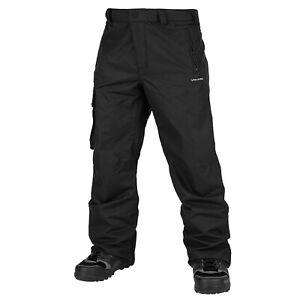 VOLCOM Mens 2020 Snowboard Snow VENTRAL PANT Black