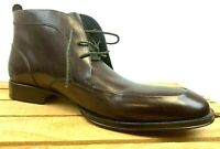 Johnston & Murphy Leather Men's ANkle Chukkas Lace Up Boots Sz 11.5