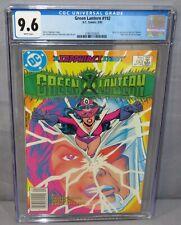 GREEN LANTERN #192 (M.A.S.K. preview) CGC 9.6 NM+ DC Comics 1985