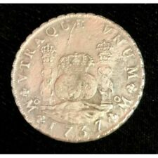 RARE 1737 Mexican Pillar Dollar from The 1739 Wreck Of The Rooswjjk