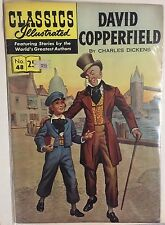 Classics Illustrated #48 David Copperfield by Charles Dickens (Hrn 169) stiff F-