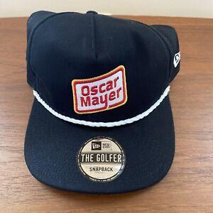 NASCAR Ryan Newman #6 Oscar Meyer Hot Dogs Golfer New Era Black Snapback Hat