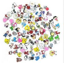 Lots 200 Pcs Mixed Cartoon Disney DIY Metal Charms Jewelry Making pendants Gifts