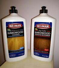 WEIMAN Hardwood Floor Cleaner /Finish Restorer Combo 2 Pk 32oz. SET