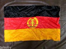 """EAST GERMAN FLAG VINTAGE 1970's 12"""" x 18"""" New Old Stock NOS DDR GDR Cold War"""
