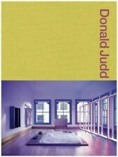 Donald Judd Spaces Book: Judd New York & Texas -  Brand New & Sealed Copy