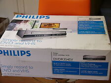 NEU Philips DVDR 3545V DVD VHS Recorder Player SDTV Tuner 1080p HDMI DVDR 3545V/37