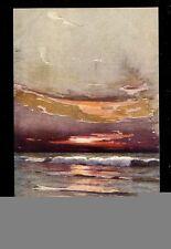 Seascape Tuck Aquarette #6268 artist George Ricard-Cordingley PPC ref2