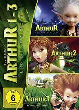 ARTHUR UND DIE MINIMOYS 1 - 3 3 DVD NEU