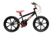 "XN-3-18 Boys Kids Freestyle BMX Bike Stunt Pegs 18"" MAG Wheel Black Red Childs"