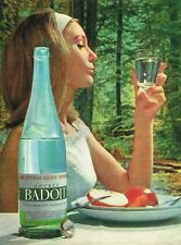 A- Publicité Advertising 1962 Eau Minerale gazeuse Source Badoit
