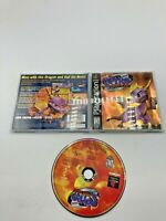 Sony PlayStation 1 PS1 CIB Complete Tested Spyro Ripto's Rage Gold Foil BL