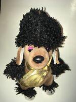 """GANZ Webkinz Rockerz Poodle 9"""" Plush Stuffed Animal"""