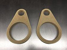 """MDF Speaker rings, 5.25"""" teardrop component mount"""