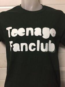 TEENAGE FANCLUB LOGO  MUSIC T SHIRT