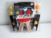 Set - 4 Tischtennisschläger 8 Bälle Netz Halter und Aufbewahrung NEU OVP