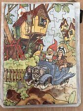 Small Vintage Gnome Garden Puzzle