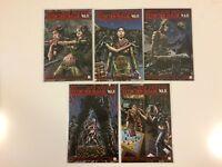 Complete Set Extinction Parade War #1 2 3 4 5 Avatar Press Comics (2014) VF/NM