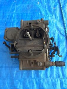 Ford & Mustang & Others Holley 4 Barrell Carburettor