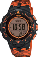 Casio G-Shock Pro-Trek PRG300CM-4 Solar Powered Digital Altimeter Compass Watch