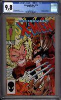 Uncanny X-Men 213 CGC Graded 9.8 NM/MT Marvel Comics 1986
