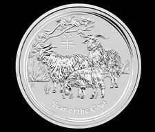 2015 10 oz Silver Australian Year of the Goat Coin Bullion Australia