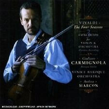 GIULIANO CARMIGNOLA/VBO - VIVALDI: QUATTRO STAGIONI AND THREE CONCERTOS  CD NEU
