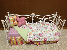 Barbie Doll My Scene Miami Getaway Hotel Room Purple Daybed Bed House Furniture