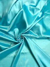 "LAGOON GREEN 60"" TAFFETA FAUX SILK FABRIC GR8 4 DRAPE VICTORIAN DRESS WEDDING"