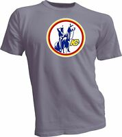 KANSAS CITY SCOUTS DEFUNCT NHL HOCKEY VINTAGE STYLE Gray T-SHIRT NEW HANDMADE