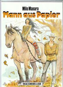 Mann aus Papier Softcover Comic von Milo Manara in Topzustand !!!