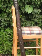 "59""150cm DIDGERIDOO Aborigin Handcarved +Bag +Beeswax Mouthpiece +World Shipng"